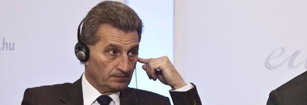 "China, Günther Oettinger, EU, Rassismus, ""Schlitzauge"""