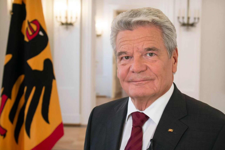 Joachim Gauck, photo website of the German Federal President