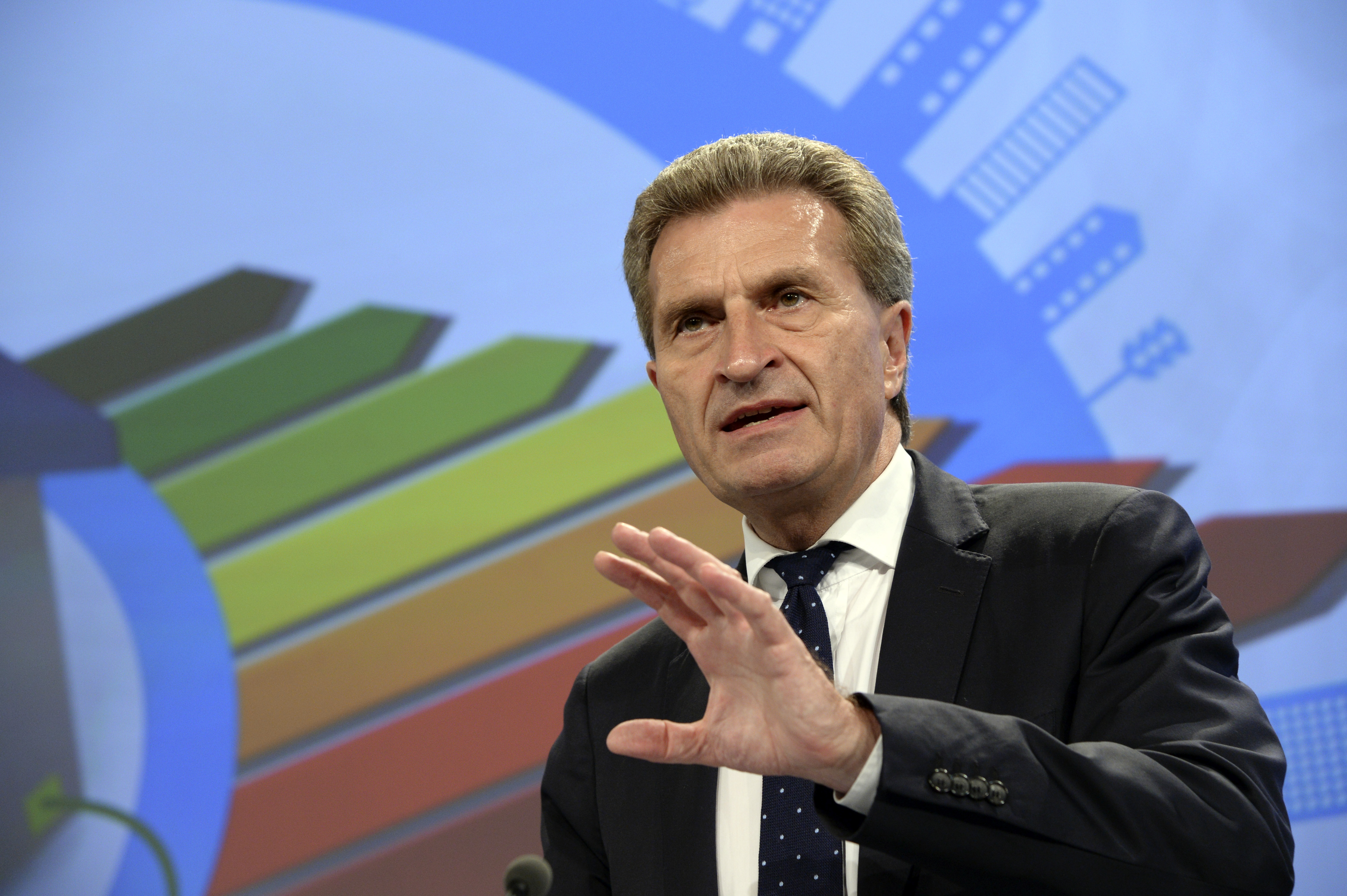 Günther Oettinger, German Commissioner for energy, 2009-2014 [European Commission]