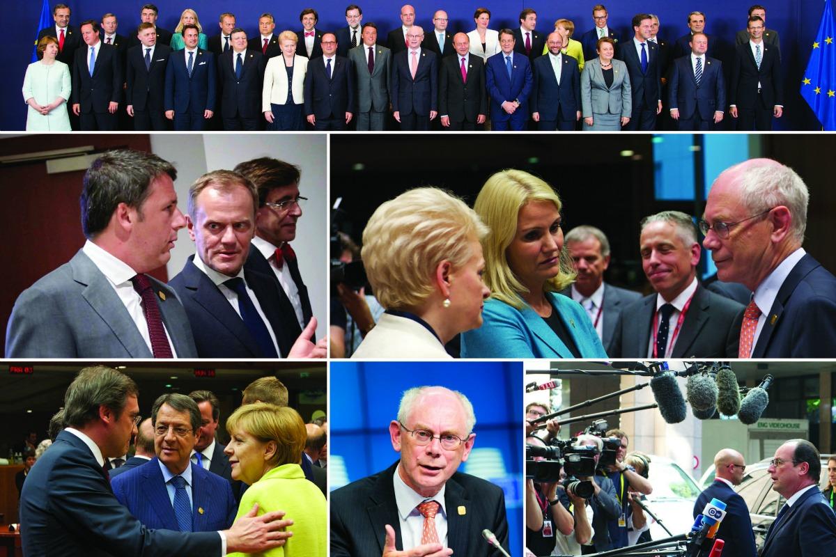 Special EU summit meeting, July 2014 [European Council/Flick]