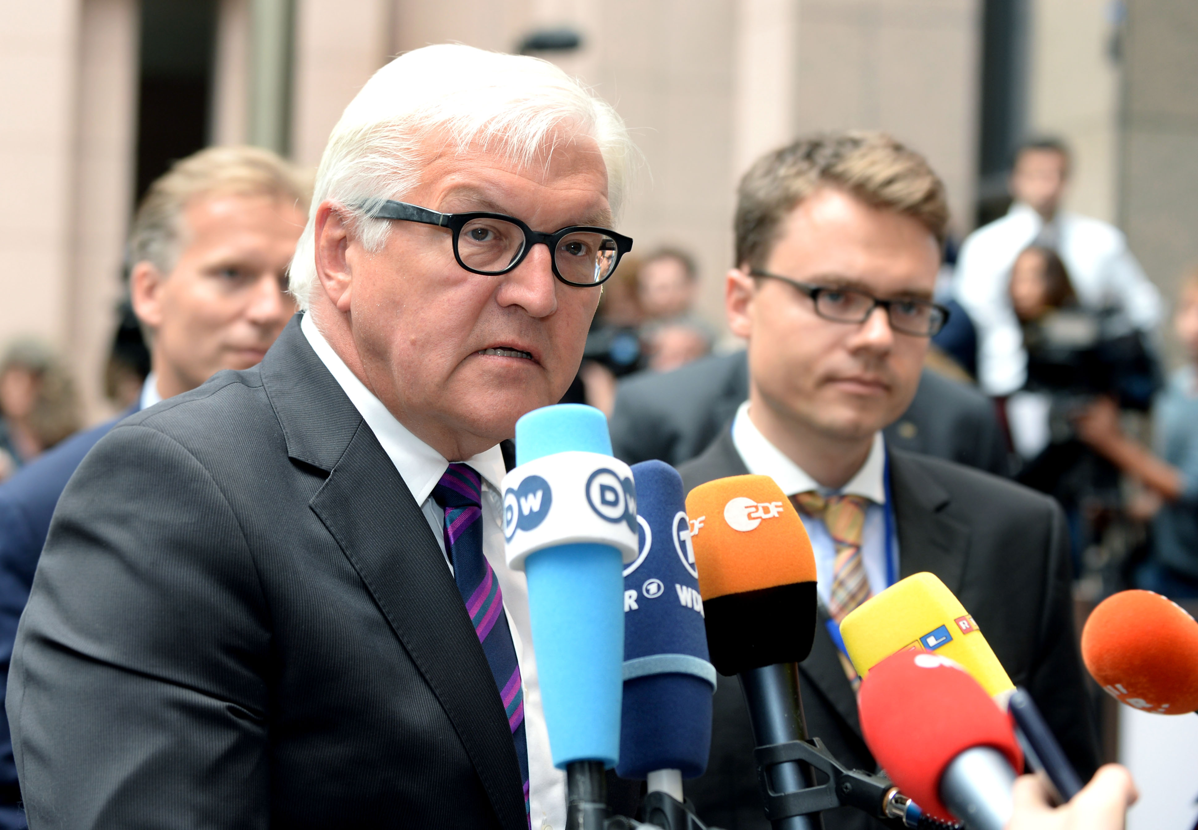 German Foreign Minister Frank-Walter Steinmeier. [The Council of European Union]