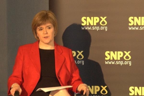 """Die Erste Ministerin Schottlands, Nicola Sturgeon, hält ein neues schottisches Unabhängigkeitsreferendum für """"hochwahrscheinlich""""."""