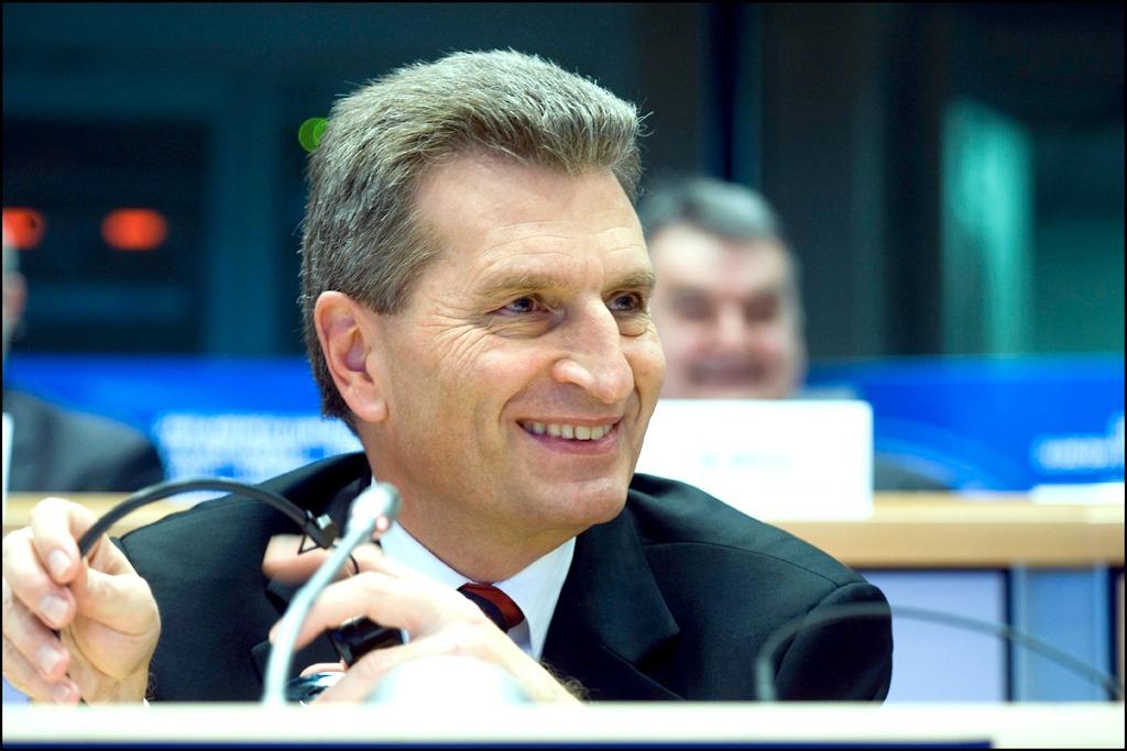 EU Europa Nachrichten Oettinger