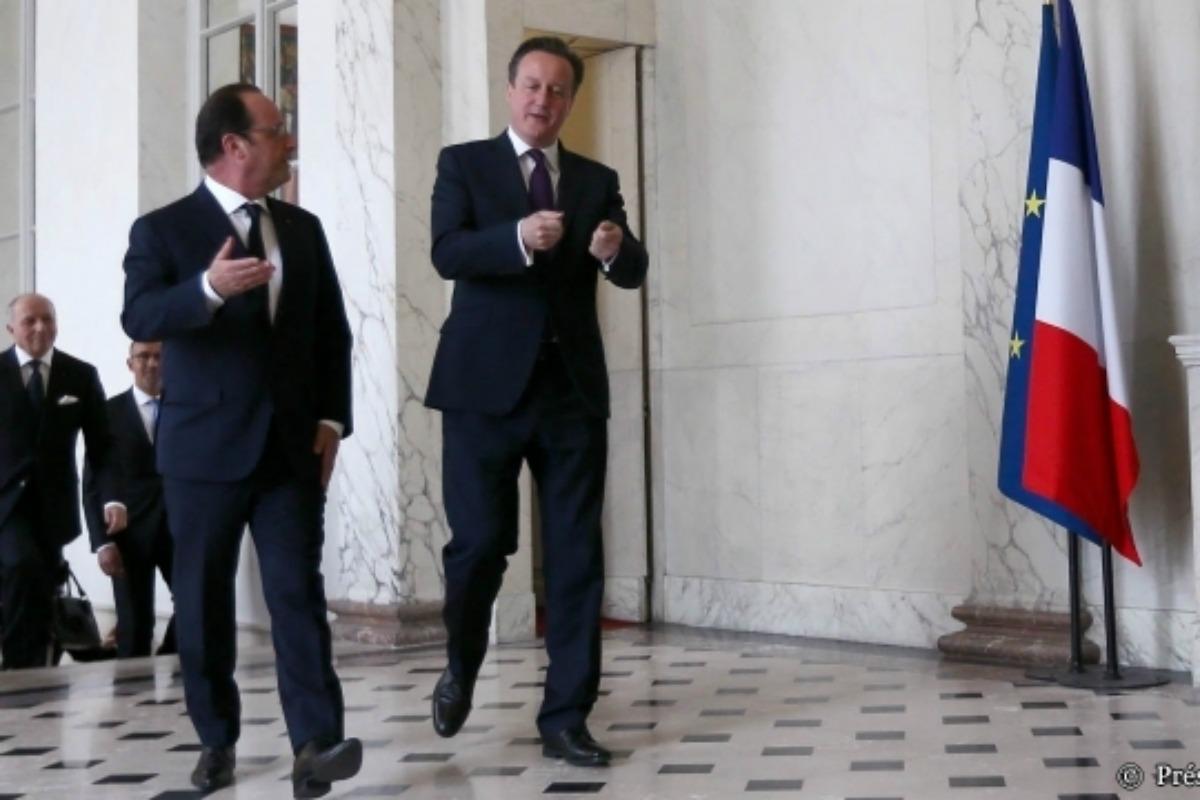 Hollande and Cameron