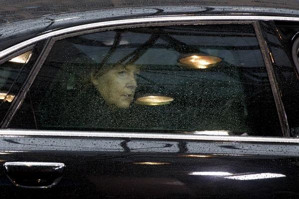 Liveblog So lief die Pressekonferenz von Trump und Merkel