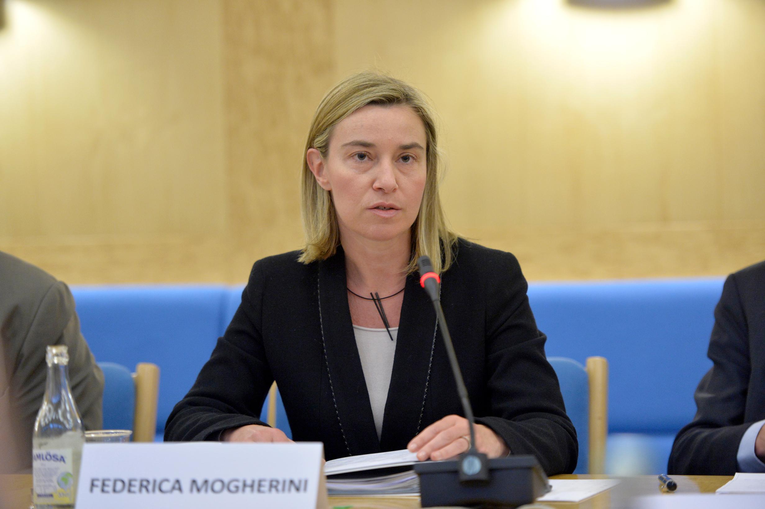 EU Europa Nachrichten Mogherini