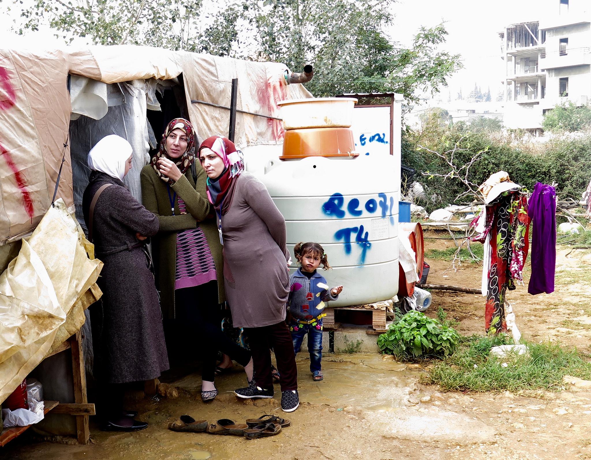 Flüchtlinge aus Libanon und Jordanien könnte bald auch Schutz durch die EU gewährt werden.