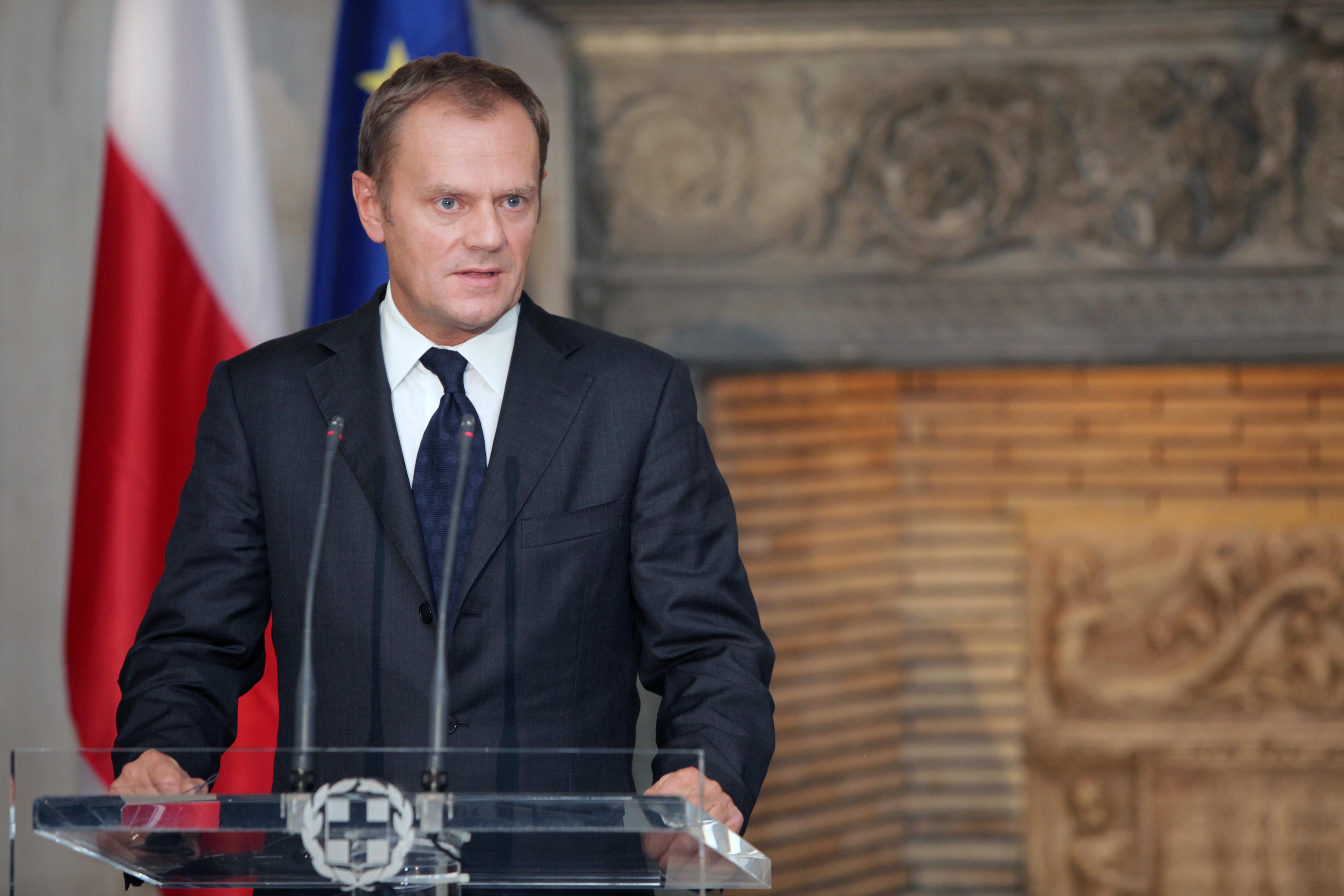 EU-Ratspräsident Donald Tusk erwartet einen EU-Beschluss zur Vermeidung von Brexit.