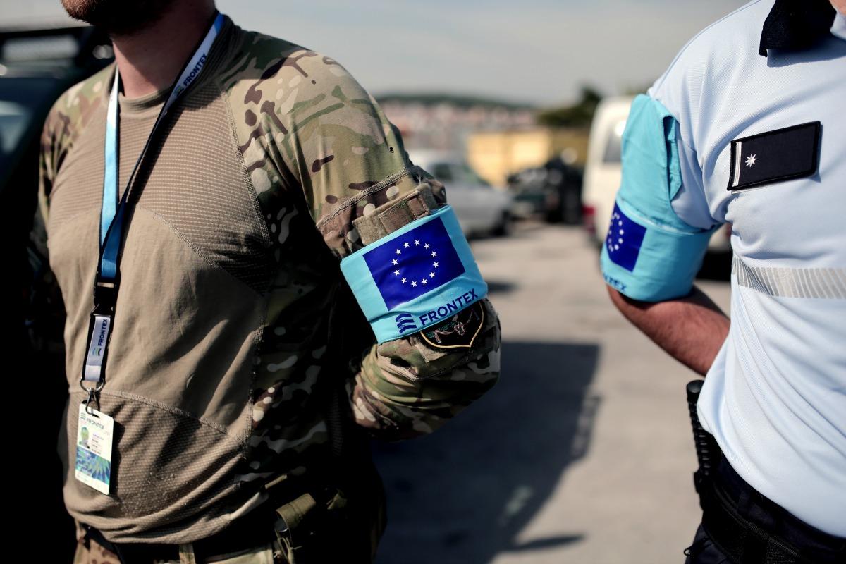 Frontex guards