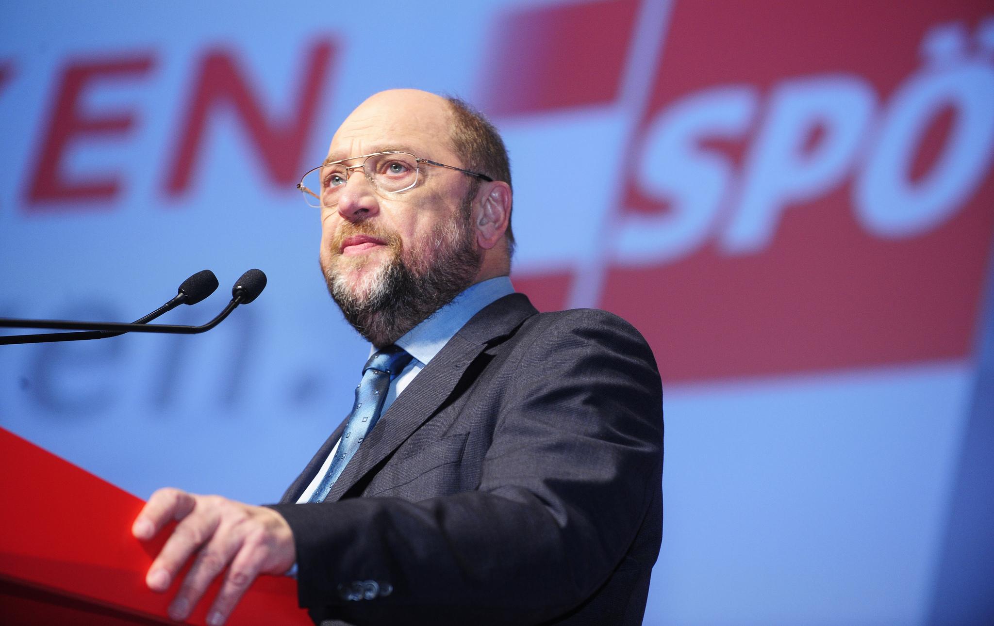 Martin Schulz Sicherheit Wahlkampf SPD