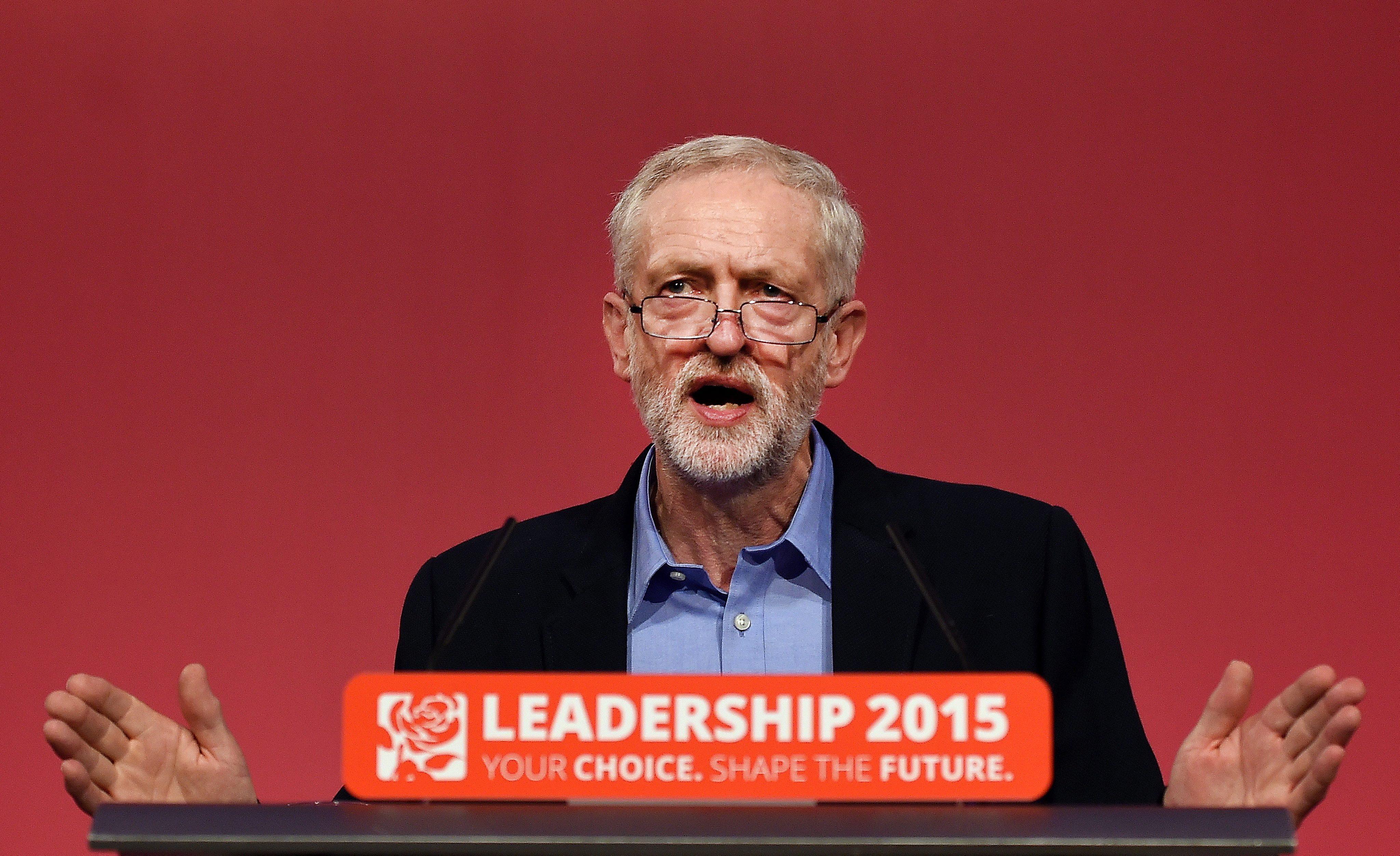 New Labour Chef Jeremy Corbyn setzt sich für den Brexit ein.