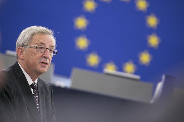 Juncker in Rage: