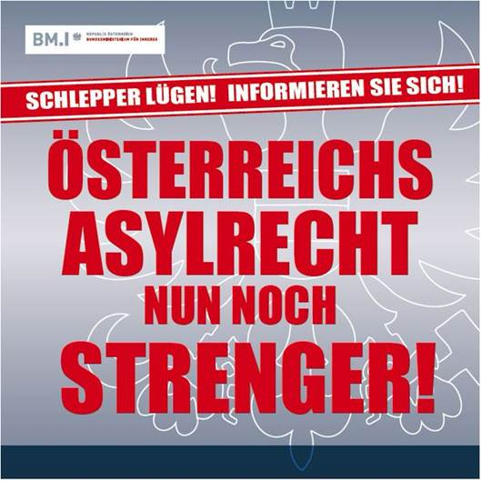 """Die neue """"Bleib-Zuhause"""" Kampagne der österreichischen Regierung"""