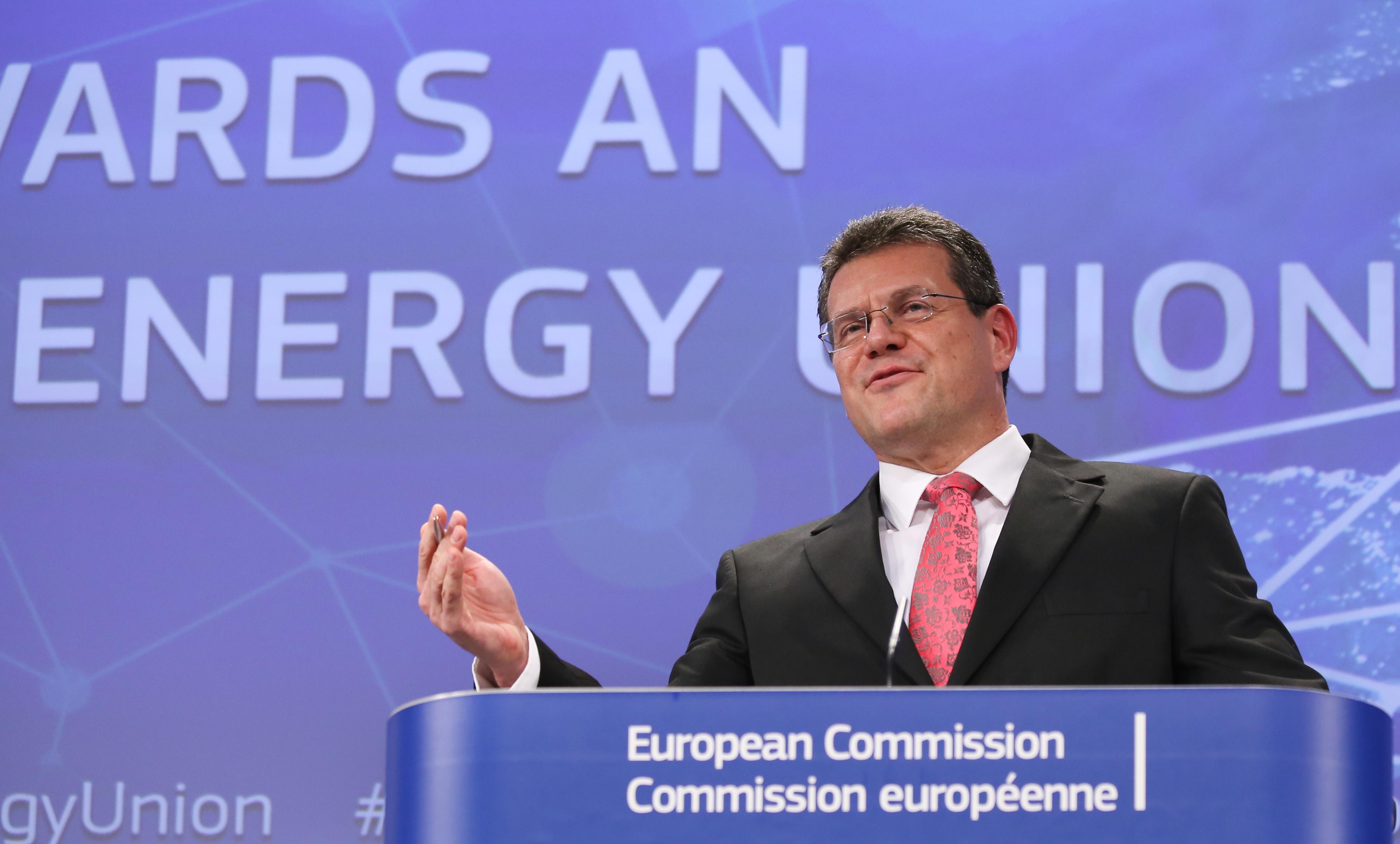 EU Europa Nachrichten Energie Sefcovic