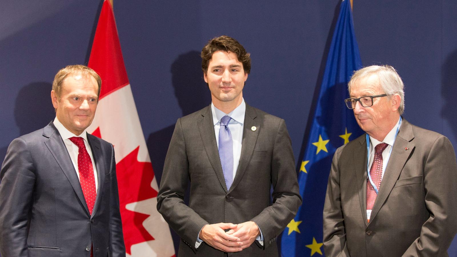 CETA, Freihandelsabkommen, Justin Trudeau, TTIP, Kanada