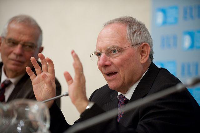 Schäuble fordert Abbau fauler Kredite