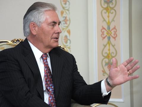 Rex Tillerson, USA, Nato
