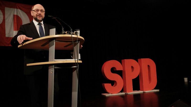 Martin Schulz als neuer SPD-Parteichef gewählt.