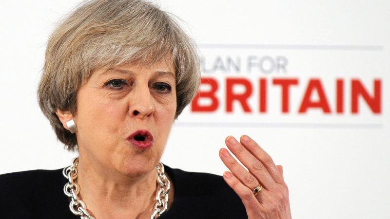 Neuwahl In Großbritannien: Der gewagte Schachzug der Theresa May