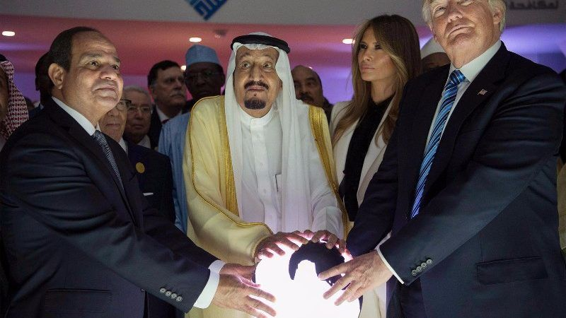 Saudi-ArabienTrump ruft zum Kampf gegen Terrorismus auf
