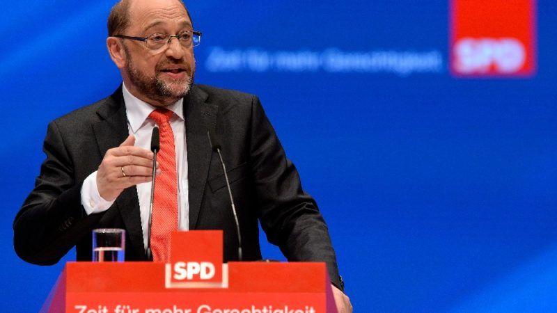 Nach Merkel-Kritik: CDU kritisiert Schulz scharf