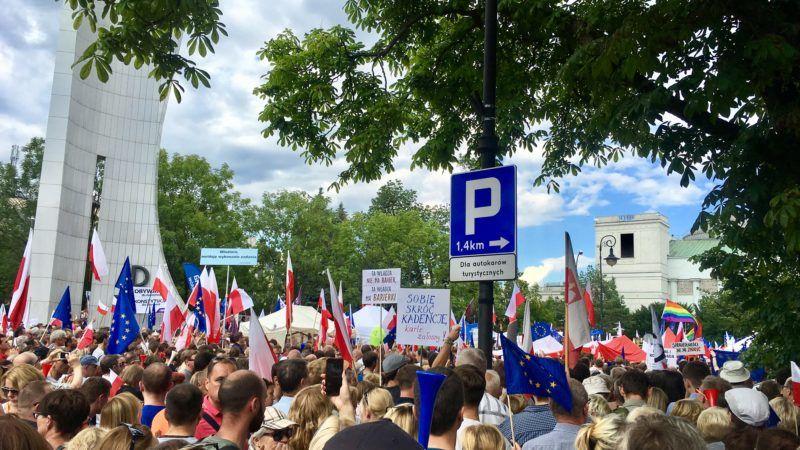 Machtprobe in Polen im Streit um Justizreform