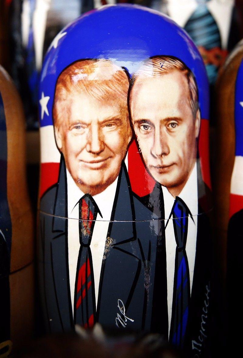Ungeklärter Beziehungsstatus: US-Präsident Donald Trump und sein russischer Amtskollege Wladimir Putin.